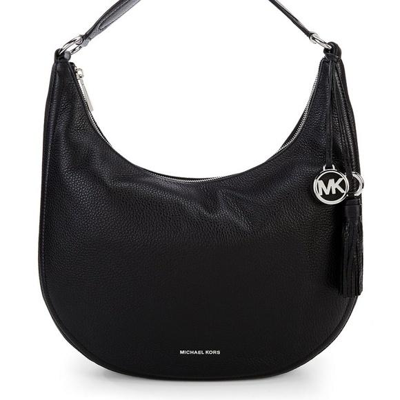 2ae429936fa2 NWT MichaeL Kors Lydia Large Hobo With Tassel Bag